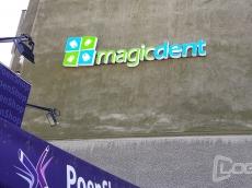 3D svetleca LED reklama Magic Dent - Beograd
