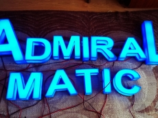 3d svetleca reklama - Firma: Admiral Matic - Lokacija: Beograd
