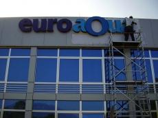 3d svetleca reklama - Firma: Euroaqua - Lokacija: Boljevac