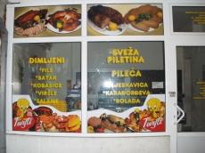 Brendiranje izloga, PVC folija - Firma: Twity - Lokacija: Beograd