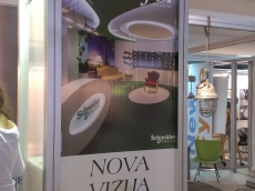 Brendiranje izloga, PVC folija - Firma: Beogradski sajam - Lokacija: Beograd