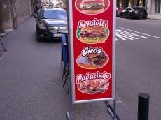 Svetleća reklama totem - Firma: City King - Lokacija: Beograd