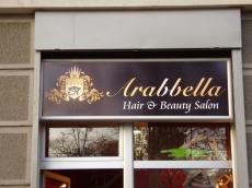 Svetleća reklama - Firma: Arabbela - Lokacija: Beograd