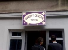 Svetleća reklama - Firma: Beauty centar Tinss - Lokacija: Beograd