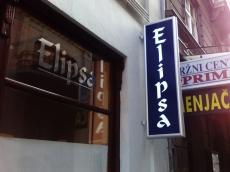 Svetleća dvostrana konzola - Firma: ELIPSA - Lokacija: Beograd