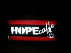 Svetleća reklama - Firma: Hope caffe - Lokacija: Beograd