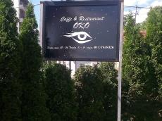 Svetleća reklama - firma cafe-restoran Oko - Lokacija: Beograd