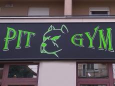 Svetleća reklama - Pitgym - Lokacija: Beograd