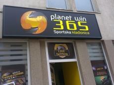 Svetleća reklama - Planet win 365 - Lokacija: Beograd