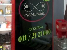 Svetleca reklama Restoran Pizzeria MesiMesi