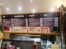 Svetleca reklama za fast food-Rankovic Grill