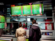 Svetleca reklama za fast food