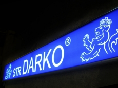 Svetleća reklama - Firma: STR Darko - Lokacija: Beograd