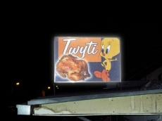 Svetleća reklama - Firma: Twity - Lokacija: Beograd
